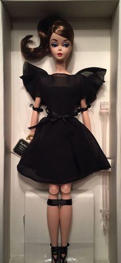 IDC 2016 Silkstone Barbie - Black Dress Ltd. 275 NFRB   eBay