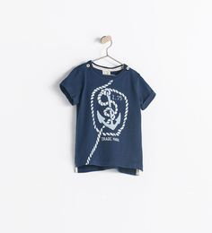 Image 1 of ANCHOR T-SHIRT from Zara