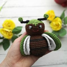 Amigurumi Little BUG Crochet Pattern