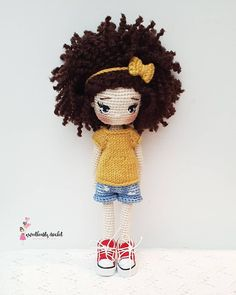 The Most Beautiful Amigurumi Doll Free Crochet Patterns - Amigurumi Patterns - Amigurumi TutorialIn this article we are waiting for you great amigurumi doll models. You can give yourself to these great amigurumi toys. Crochet Gratis, Crochet Amigurumi Free Patterns, Crochet Doll Pattern, Cute Crochet, Knitted Dolls, Crochet Dolls, Crochet Dragon, Amigurumi Tutorial, Cast On Knitting