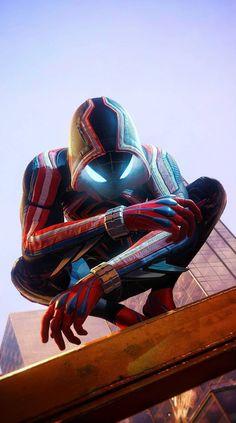 Marvel Avengers Movies, Iron Man Avengers, Avengers Art, Marvel Comics Art, Marvel Heroes, Black Spiderman, Spiderman Art, Amazing Spiderman, Siper Man