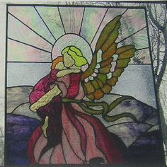 Child's Angel - Delphi Stained Glass