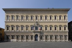 Palau Farnese a Roma, Miquel Àngel