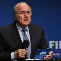 SUISSE :: Sepp Blatter quitte la présidence de la Fifa :: SWITZERLAND
