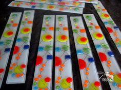Guarda Vitrofusion 45cm X 6cm - $ 75,00 Fused Glass Ornaments, Wind Chimes, Cactus, Outdoor Blanket, Backsplash Ideas, Tiffany, India, Jewelry, Painting On Glass