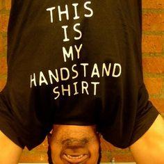 More like my keg stand shirt!