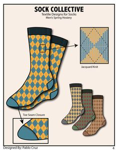 Sock Collective on Behance