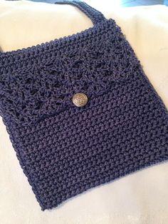 Crochet Angel Pattern, Crochet Cardigan Pattern, Crochet Cross, Free Crochet, Knit Crochet, Crochet Patterns, Crochet Hot Pads, Crochet Pouch, Thread Crochet