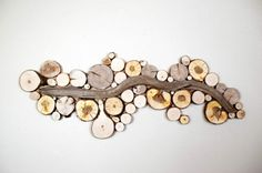 wanddekoration selber machen strom naturholz