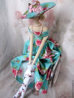 Donna Rosa, LettiLab store - Tilda doll