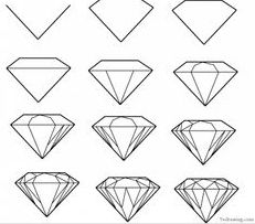 Drawing Diamonds