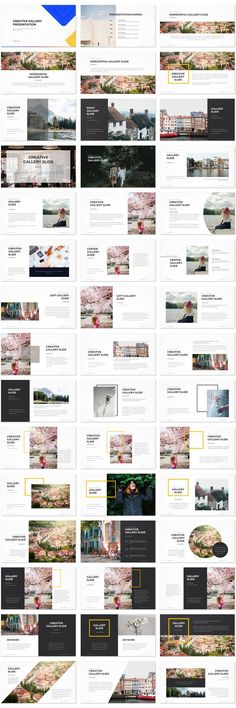 Creative Gallery Presentation Template