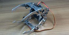 Braço robótico 6 DOF alumínio CNC quadro industrial ABB robot modelo 6 asix braço do robô 6 servos em Figuras de ação & Toy de Brinquedos Hobbies & no AliExpress.com | Alibaba Group