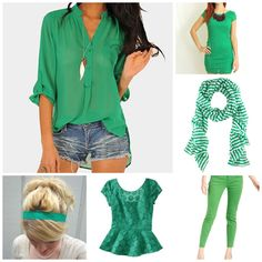 Re-Wearable St. Paddy's Day Finds (on a Budget!) This fashion blogger has picked out 11 cute options for Saint Patrick's Day 2013!
