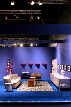 Cappellini exhibition stand at the  Biennale Interieur 2014