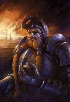 Dwarven knight