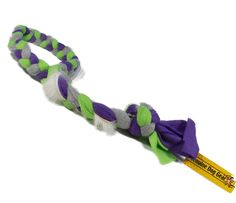 Real Rabbit Fur and Fleece Dog Rope Pull -Visual, Taste and Smell Motivator (Green Purple Grey) *** You can get more details by clicking on the image. (This is an affiliate link and I receive a commission for the sales)