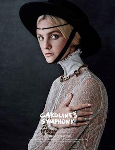 'Caroline's Symphony' - Vogue Japan 2015 October