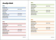 Napló-kiegészítő lapok: 4 új kategória, 11 oldalon Filofax, Calander, Urban, Bullet Journal, Scrapbook, Thoughts, Creative, How To Make, Scrapbooking