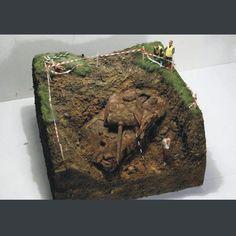 Archaeology panther by Adrian Banaś From: pinterest #scalemodel #plastimodelismo #scalemodel #plasticmodel #modelismo #miniatura #miniature #maqueta #plamodel #plastickits #usinadoskits #udk #scalemodelkit #diorama #war #guerra #guerre #bataille #modelism #modelisme #modelism #archaeology