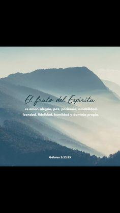 Mas el fruto del Espíritu es amor, gozo, paz, paciencia, benignidad, bondad, fe, mansedumbre, templanza; contra tales cosas no hay ley. Gálatas 5:22-23 RVR1960.