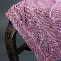 A beautiful knit shawl, perfect for any time of the year..