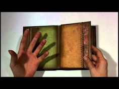 ▶ Ancestry Envelope Mini Album - YouTube.  love the papers, the punched edges, the pockets.