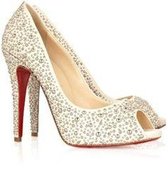 Escarpin #Louboutin #mariage #wedding #shoes