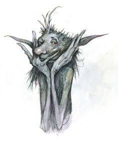 """"""" Brian Froud began his career in book illustration. He went on to design the award-winning and cult films The Dark Crystal and Labyrinth for Jim Henson. Forest Creatures, Woodland Creatures, Magical Creatures, Fantasy Creatures, Brian Froud, Creature Drawings, Animal Drawings, Kobold, The Dark Crystal"""