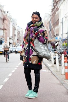 blog - how to wear - AUkO sjaals