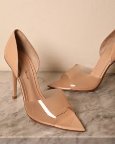 Nude High Heels, High Heel Pumps, Stiletto Heels, Cute Shoes, Me Too Shoes, Women's Shoes, Small Heel Shoes, Aesthetic Shoes, Shoes