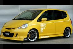Honda#Fit Yellow boss
