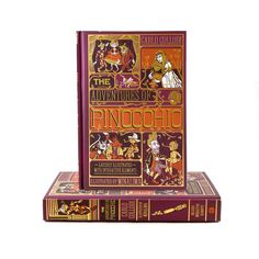 Adventures of Pinocchio (Deluxe) The enduring children's tale The Adventures of Pinocchio, retold for a new generation in this spectacular full-color deluxe gift edition, packed with beautiful artwork and seven interactive features created by the award-winning design studio behind the graphics for the Harry Potter film franchise, MinaLima. Harry Potter Film, Pinocchio, Retelling, Children's Literature, New York Public Library, Beautiful Artwork, Graphics, Adventure, Studio