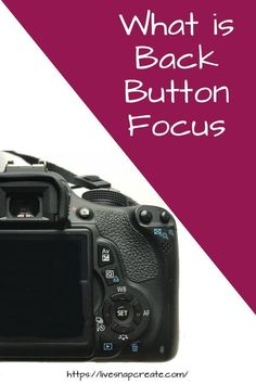 Learn the what, why, and how of back button focus on your DSLR. It's easier than you think! Dslr Photography Tips, Photography Challenge, Photography Lessons, Photography For Beginners, Photography Tutorials, Digital Photography, Photography Business, Portrait Photography, Photography Workshops