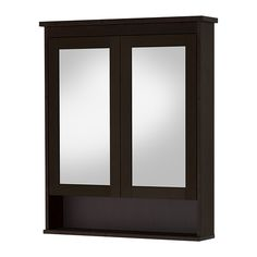 HEMNES Mirror cabinet with 2 doors IKEA Water-resistant; suitable for use in high humidity areas.