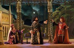 """""""Il Trovatore"""" - Compagnia marionettistica Carlo Colla e figli. Aren't these marionettes elegant!"""