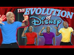 'The Evolution of Disney', A Chronological Medley of Songs in Disney Films by Vocalist Todrick Hall