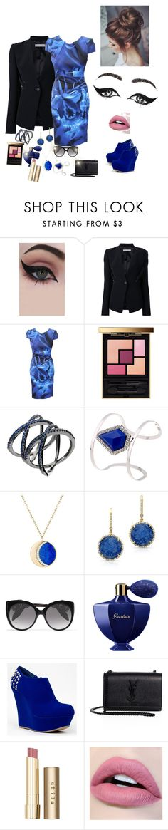 """""""Women's Style"""" by amidjanswife45 ❤ liked on Polyvore featuring Concrete Minerals, Dion Lee, Karen Millen, Yves Saint Laurent, Noir Jewelry, Pamela Love, Anne Sisteron, Alexander McQueen, Guerlain and Bamboo"""