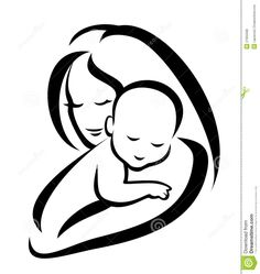 Mother And Baby Silhouette - Download From Over 44 Million High Quality Stock Photos, Images, Vectors. Sign up for FREE today. Image: 27955588