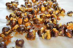 Aga w kuchni: Orzechy laskowe w karmelu