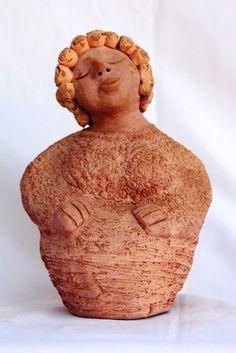 Anjo de cerâmica