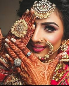 24 new Ideas for indian bridal shoot beauty Indian Bride Poses, Indian Wedding Poses, Indian Bridal Photos, Indian Wedding Couple Photography, Indian Bridal Makeup, Indian Bridal Fashion, Mehendi Photography, Indian Weddings, Photography Ideas
