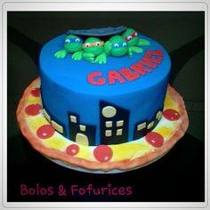 Bolo Tartarugas  Ninjas  Teenage Mutants Ninjas Turtle cakes