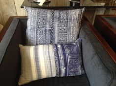 Assorted Blue & White Pillows | Big Daddy's Antiques