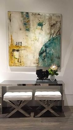 Michelle Y Williams installation in Miami with Dkor Interiors