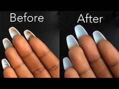 How To Clean Underneath Your Acrylic Nails Comment nettoyer sous vos ongles en acrylique – Health Beauty Space Pink Nails, My Nails, Hair And Nails, White Nails, Burgendy Nails, Oxblood Nails, Magenta Nails, Nails Turquoise, Baby Blue Nails