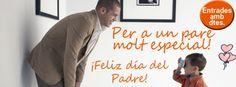 ¿Cuánto hace que no dices a tu Padre que lo quieres? Feliz Día del Padre Win Money, Slot Online, Decir No, Happy Fathers Day
