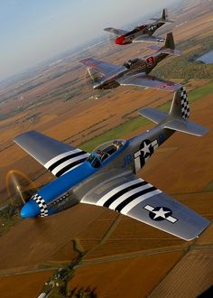 The North American Aviation P-51 Mustang was an American long-range, single-seat fighter and fighter-bomber used during World War II, the Korean War and other conflicts. The...