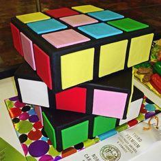 Rubix Cube!! cake