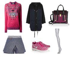 Outfit van de dag: vrijdag #SneakerFriday  #Kenzo #RiverIsland #TopShop #Nike #PhillipLim31  Meer weten? Klik